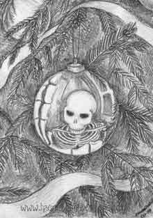 Skeleton in the bauble